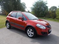 2011 60 SUZUKI SX4 1.6 SZ5 4X4 IN LOVELY METALLIC ORANGE CALL 07791629657