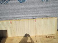 4 X 2240 X 660 X 10MM PLYWOOD BOARDS