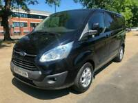 2014 FORD TRANSIT CUSTOM 2.2 LIMITED 270 SWB VAN IN SILVER EURO 5 125PS