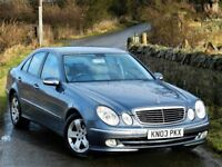 LOVELY! MERCEDES E CLASS E240 AVANTGARDE AUTO- FULL LEATHER SERVICE HISTORY-DRIVES PERFECT
