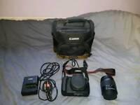 Canon 1200d + 18-55mm Lens + Camera Bag