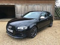 Audi S3 8P 3dr Black Edition Recaro RS4 seats