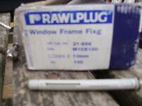 frame fixings 10 mm x 100mm