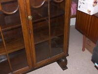 book case/china cubard good condition