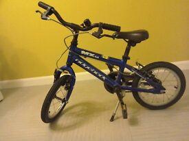 Mx14 Ridgeback bike blue