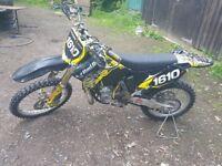 RM 250 Motocross