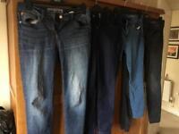 Ladies 10 skinny jeans