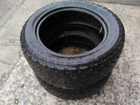 General Grabber AT2 M+S tyres 255/55R18 - pair - £80 or offers