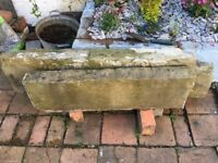 FREE if picked up, 2 slabs of stone, could be used for steps or other. 130cm X 30cm and 93 X 27