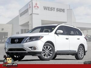 2014 Nissan Pathfinder S-Satellite Radio-Heated Mirrors, FrontBa