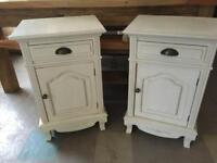 Shabby French chic bedside cabinet