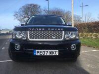"""Range Rover Sport HSE 2.7TD, full colour coded, tow pack, ice pack, fridge, 2 keys, 22"""" alloys,"""