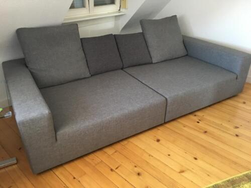 Design Sofa Farbe Grau 260 Cm X 130 Cm Gebraucht Neuwertig In Baden