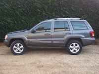 JEEP GRAND CHEROKEE OVERLAND 4.7 V8 260 BHP HIGH OUTPUT - MAY PX