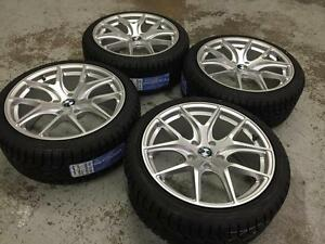 "18"" Avante Garde Wheels 5x120 and Winter Tires 225/40R18 (BMW Cars) Calgary Alberta Preview"