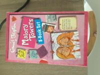 Set of 8 Enid Blyton Malory Towers books