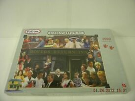 Coronation Street Jigsaw Jig Saw 1000 Pieces New