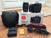 Canon EOS 70D DSLR Camera with 18-55mm IS STM Lens + 1 Year WARRENTY
