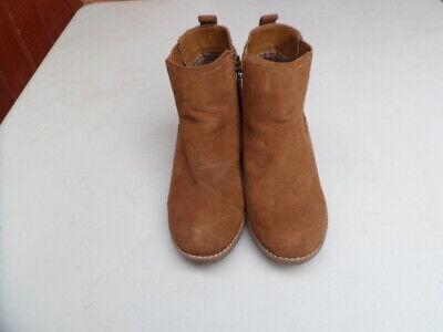 Women's Khombu Memory Foam Suede Leather Wedge Ankle Boots size 5 UK