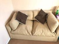 Double sofa bed Fabric