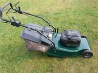 Hayter harrier 48 petrol selfpropelled lawnmower with clutch brake In good working order