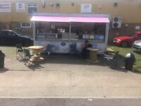 Catering Trailer, Burger Bar, Burger Van WITH PITCH!! 1200-1500 weekly earning
