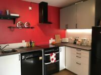 Unfurnished two bed flat to rent Dennistoun with parking