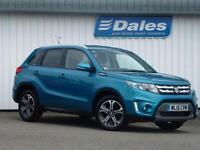 Suzuki Vitara 1.6 Ddis Diesel SZ5 Allgrip 5Dr Hatchback (atlantic turquoise zqn) 2015