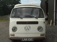 1968 early bay RHD VW campervan