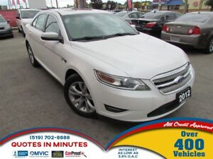 2012 Ford Taurus SEL | AWD | LEATHER | SUNROOF | BACKUP CAM