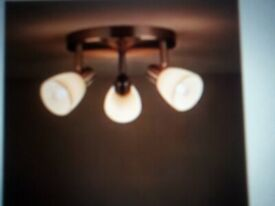 2 SPOTLIGHTS 2 lights and 3 lights ideal for kitchen. BRAND NEW!
