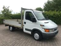 2004 Iveco Daily 2.3 TD 35C12 MEDIUM WHEEL BASE, FLAT BED / DROP SIDE. NO VAT ( Ford Transit )