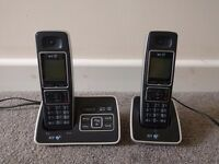 BT cordless home phone and answer machine