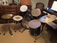 Fully serviceable drum kit for low cost