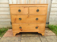 Edawrdian Pine Chest of Drawers