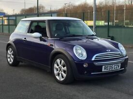 2005 MINI COOPER 1.6 * LONG MOT * SERVICE HISTORY * WHITE ROOF * PART EX * DELIVERY *