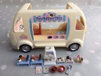 Sylvanian Families - Ice Cream Van with accessories and figures – York