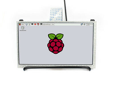 Ws 7 Inch Ips Display For Raspberry Pi Dpi Interface 1024x600 Tft Lcd No Touch