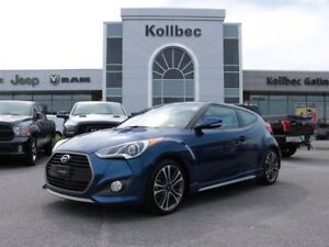 2016 Hyundai Veloster Turbo w/Blue Colour Pack