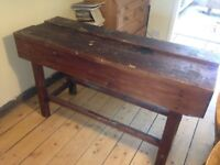 Solid wood sturdy work bench