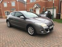 2009 RENAULT MEGANE 1.5 DCI DIESEL COUPE, £30 TAX, FULL SERVICE HISTORY, HPI CLEAR