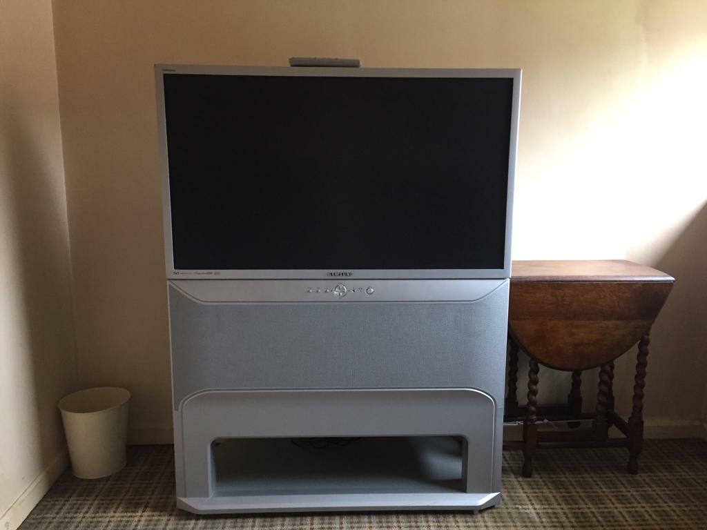 Samsung 42 flat screen rear projection tv in ipswich suffolk samsung 42 flat screen rear projection tv sciox Choice Image