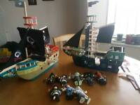 Le Toy Van pirate ships and characters