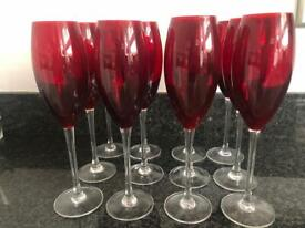 Brand new, never used champagne glasses