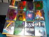 STAR TREK DVD's
