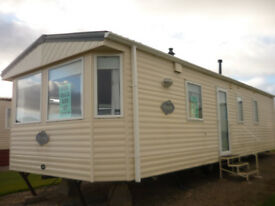 Immaculate well kept caravan with lovely views