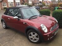 MINI Convertible 1.6 One 2dr Lether seats