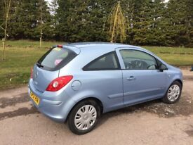 For sale 2007, Corsa Club 1200 cc 16v petrol. Just 41,500 mileage. MOT May-18