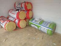 Unused 200mm thick loft insulation......