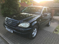 DESIGNO Mercedes ML 4x4 automatic 7 seater Fully Loaded ml320 petrol 4 x 4 4wd Air Con Private plate